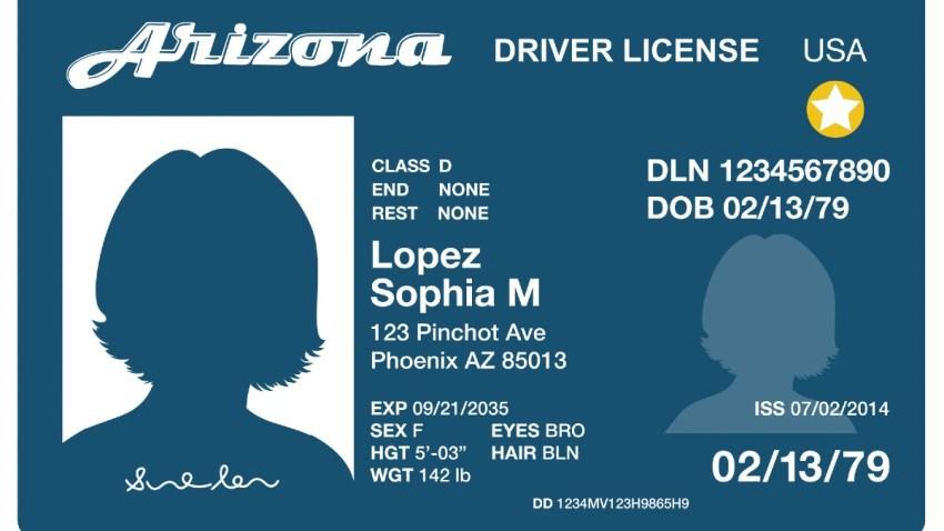 AZTravelID license-blue