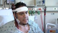 "Flu casi mata a padre hispano y lo salva ""pulmón artificial"""