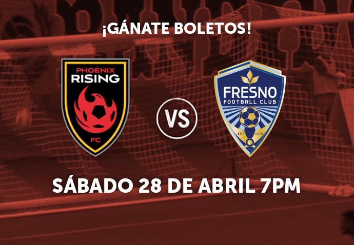 Phx Rising vs Fresno FC web