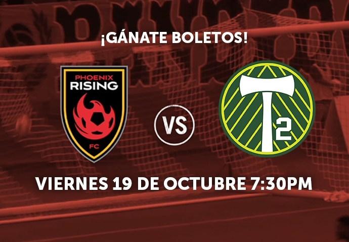 Phx Rising vs Portland T2 Oct 19