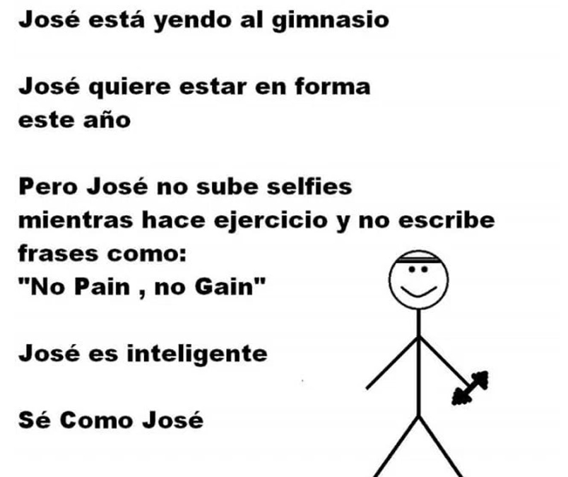 Sé como José