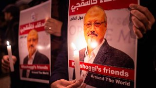 Foto de periodista asesinado