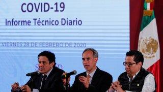 Reporte diario de autoridades mexicanas sobre coronavirus