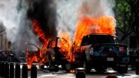 Heridos, arrestos y destrozos: saldos de violentas protestas en México
