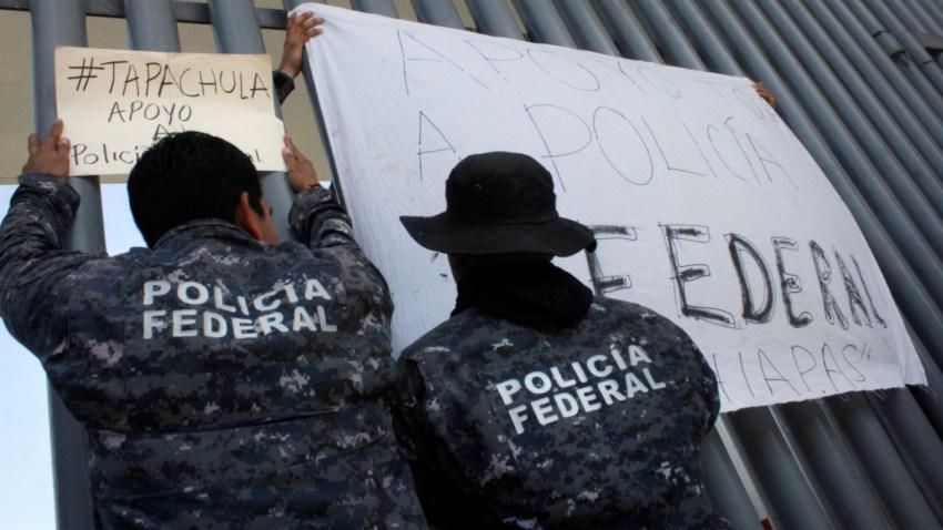 mexico-protestas-policia-federal