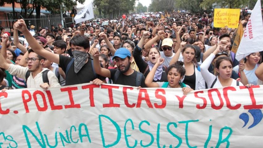 mexico-unam-alumnos-marchas