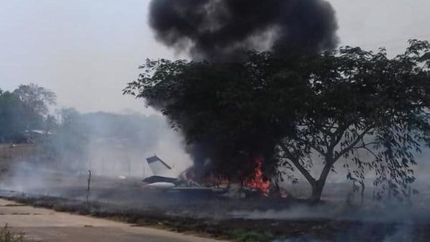 mexico-veracruz-avioneta-llamas