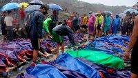 Tragedia en Birmania: sube a 162 la cifra de muertos tras deslave en una mina