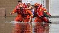 Inundaciones causan estragos en China: hay 141 muertos o desaparecidos