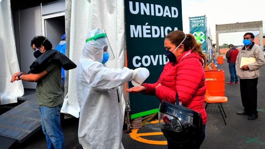 Pruebas de coronavirus en México