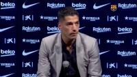 Entre lágrimas Luis Suárez se despide del Barcelona luego de traspaso al Atlético