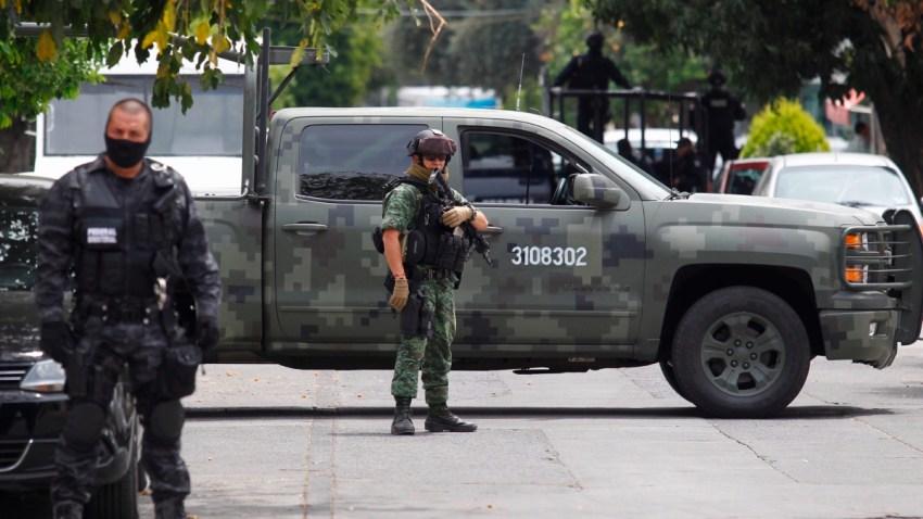 Operativo militar contra el crimen