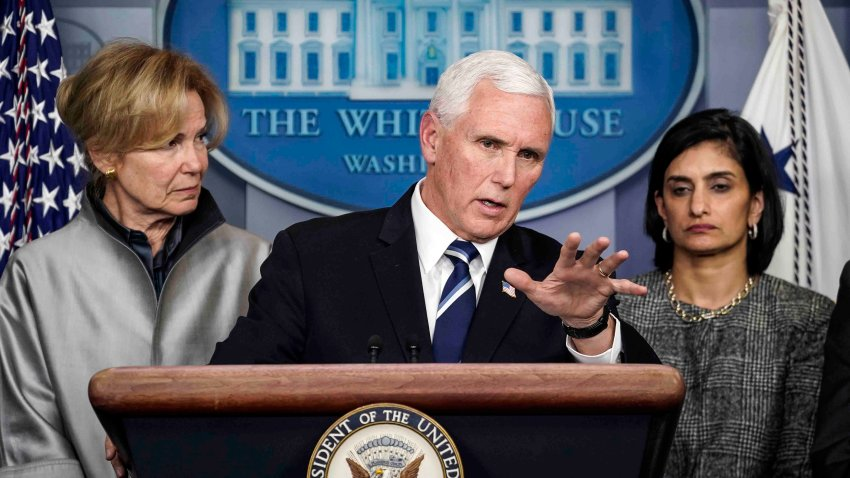 Vicepresidente Mike Pence