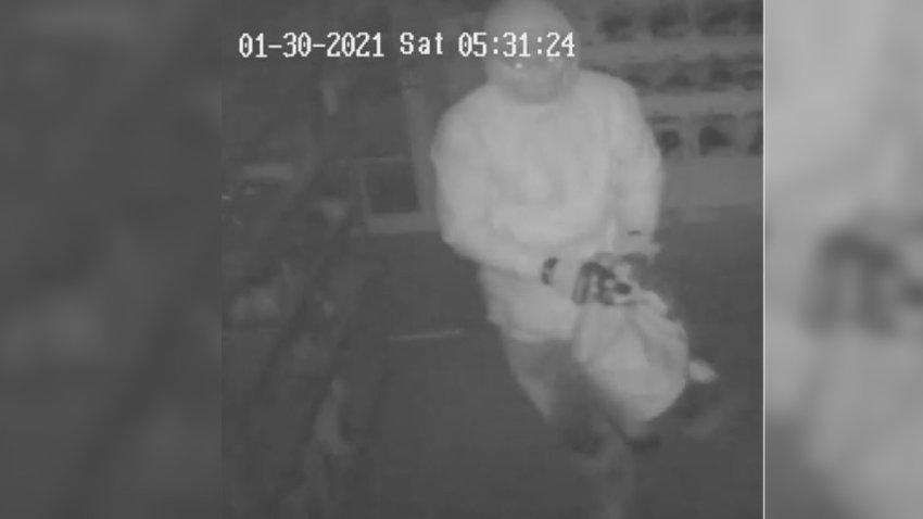 Revelan imagen de acusado de robar de 14 armas en Payson