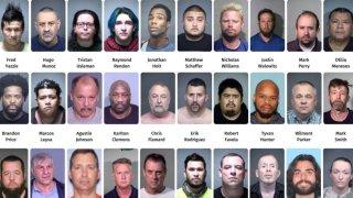 Arrestan a más de una docena acusados de cometer delitos sexuales en el valle