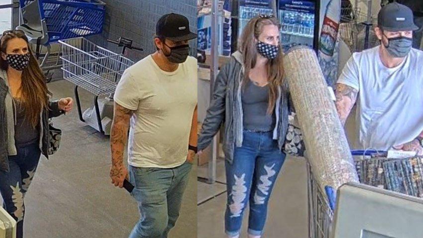 Buscan a sospechosos de robo a tiendas del valle