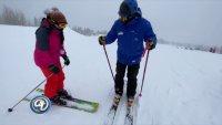 Esquiar en primavera en Flagstaff