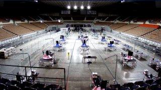 Inicia auditoría electoral en el Veterans Memorial Coliseum