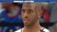Reporte: Chris Paul aprueba protocolos de COVID-19; podría jugar el partido 3 vs. Clippers