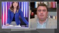 Así reaccionan una periodista y el entrevistado al ser sorprendidos por terremoto en Perú