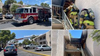 Incendio en complejo de apartamentos deja un herido y obliga a residentes a abandonar sus hogares