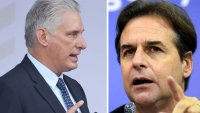 """Discutámoslo frente a frente"": gobernante cubano tras ser confrontado por el presidente de Uruguay"