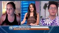 "Entrevista sobre la película     ""I Carry You With Me"""