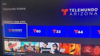 La aplicación de Telemundo Arizona ya está disponible en Amazon FireTV
