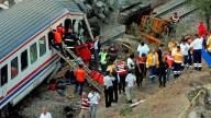 Accidente de tren deja siete muertos y heridos en Turquía
