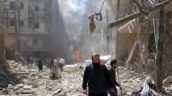 El drama de Alepo, destrozada por las bombas
