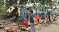 18 muertos tras accidente de bus turístico en Tailandia