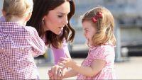 Antes de ser una de las damitas de honor de la boda de su tío el príncipe Harry y Meghan Markle la niña tiene otra ardua tarea que...