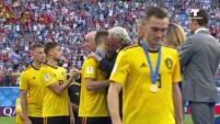 La escuadra belga fue uno de los mejores equipos del mundial y se hace merecedor del tercer puesto.