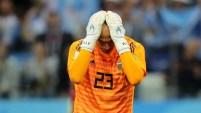 El error de Wilfredo Caballero puso al frente a Croacia y cambió el color del juego.