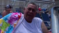 George Gámez, de 72 años, aparentemente dejó calentando su camión cuando entró en marcha y lo atropelló, quitán...