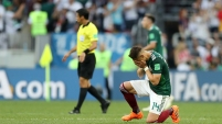 México dio el grito en Moscú y sorprendió al campeón 1-0 en el estadio Luzhniki.