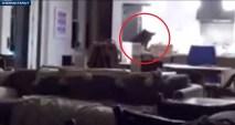 Todo el aterrador incidente fue captado en video y dos adolescentes contaron sobre el mayor susto de sus vidas.