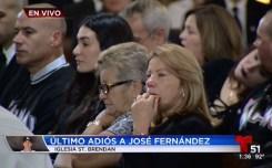 Fotos del último adiós a José Fernández
