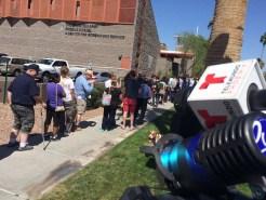 Fotos: Arizonenses hacen largas filas durante votaciones
