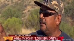 Video: Incendio Bug Creek genera clausuras y evacuaciones al norte de Phoenix