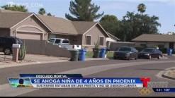 Video: Investigan ahogamiento de niña en Phoenix