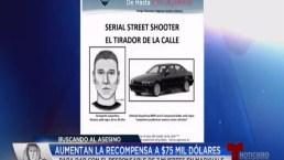 Video: Aumentan a $75,000 recompensa por el Asesino de Maryvale