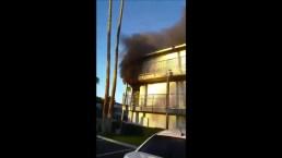 Video: Voraz incendio deja sin hogar a 20 personas