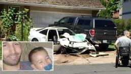 Admite que intentó matar a su hijo en accidente de auto