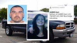 Alerta Amber en Arizona: Buscan a menor secuestrada