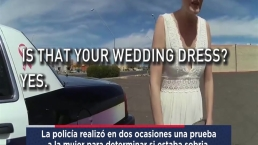 Revelan video de suspuesta novia que causó accidente