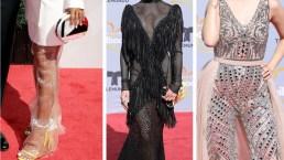 Los más extravagantes de la alfombra roja de los Premios Billboard