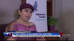 Piden alto a la violencia doméstica