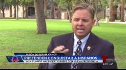 Republicanos buscan conquistar a hispanos