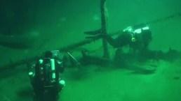 Hallan barco hundido desde hace 2,400 años